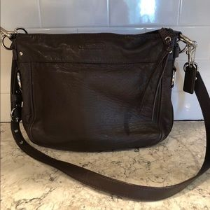 Brown COACH handbag